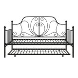 Thetford Metal Daybed with Trundle by Red Barrel Studio®