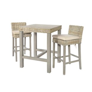 Tuscola Dining Set With 2 Chairs By Bay Isle Home