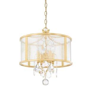 Willa Arlo Interiors Destrey 4-Light Pendant