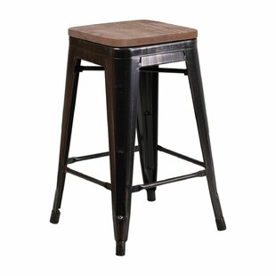 Mamie 24 Bar Stool Williston Forge