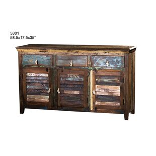 Cabarite 3 Drawer Sideboard by Loon Peak