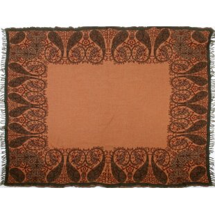 Persian Charm Boiled Wool Throw