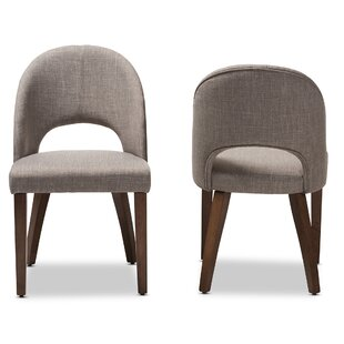 Cropper Mid-Century Upholstered Dining Chair (Set of 2)