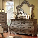 Adorno 9 Drawer Chest with Mirror by One Allium Way®