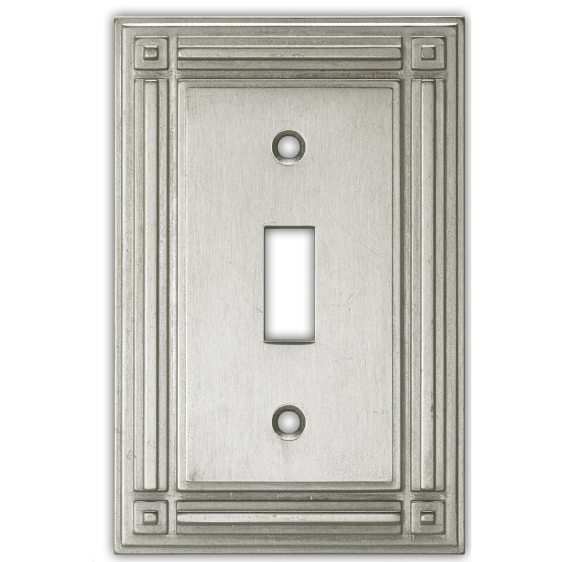 Clairedeco Evanston 1 Gang Toggle Light Switch Wall Plate Wayfair