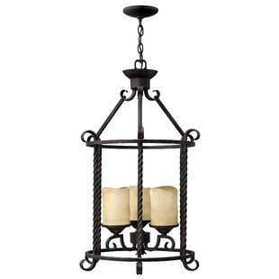 Darby Home Co Jamar 3-Light Lantern Pendant