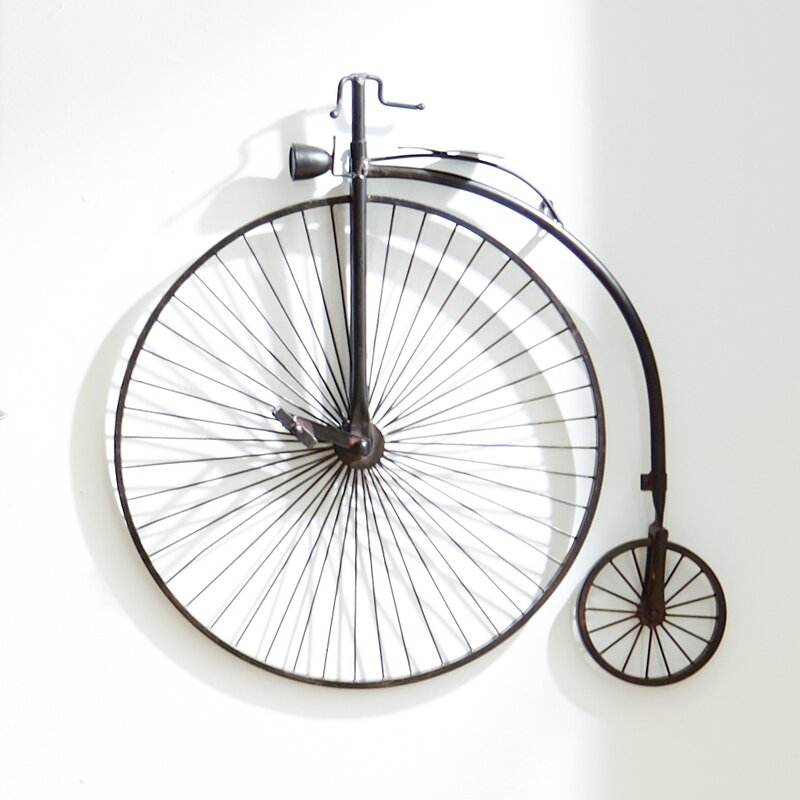 Metal bicycle decor wayfair