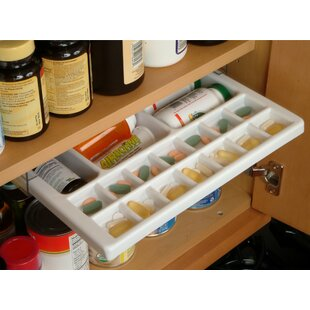 Vance Industries EZ Slide N Store Medicine Organizer Caddy