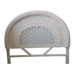 Yesteryear Wicker Wicker Panel Headboard