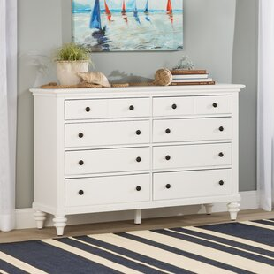 Beachcrest Home Harrison 8 Drawer Double Dre..