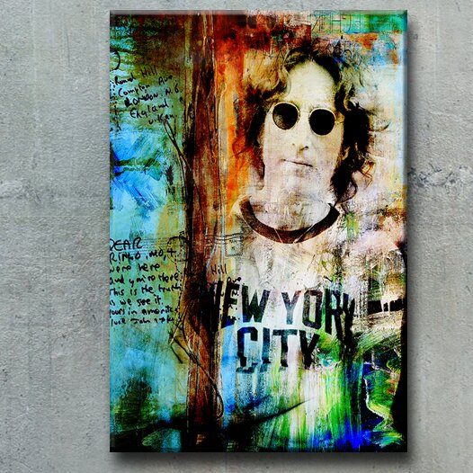Iconic 'John Lennon' Graphic Art