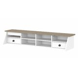 Rosecliff Heights Jace Desktop Organizer In Pure White And Shiplap Grey