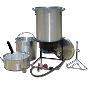 Frying and Boiling Package with 2 Pots