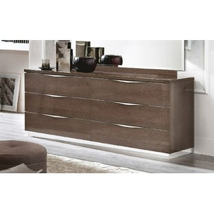 Oakhaven 6 Drawer Double Dresser by Orren Ellis Best #1