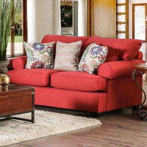 Driffield Transitional Loveseat by Darby Home Co