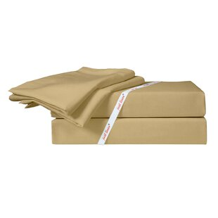 300 Thread Count Solid 100% Cotton Sateen Sheet Set