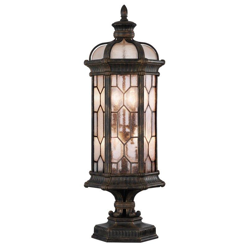 Fine Art Lamps Devonshire Bronze 4 Bulb 35 H Outdoor Wall Lantern Perigold
