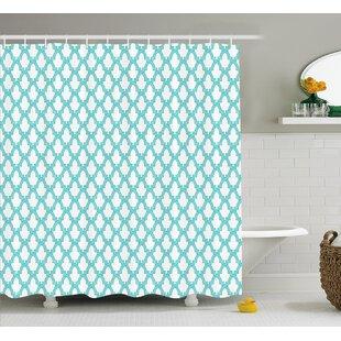 Moroccan Mosaic Décor Single Shower Curtain