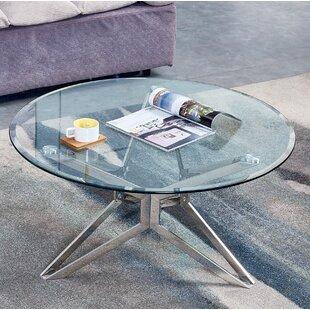 Lanclos Chrome Coffee Table By Ebern Designs
