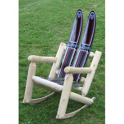 Water Wood Rocking Adirondack Chair Ski Chair