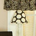 Raspberry Dot 9 Cotton Empire Lamp Shade