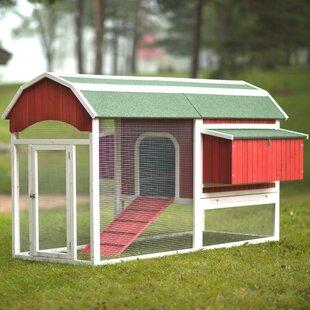 Hermione Large Barn Chicken Coop With Chicken Run By Archie & Oscar