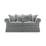 Robles Cotton 67 Rolled Arm Loveseat by Rosalind Wheeler