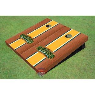 All American Tailgate NCAA Rosewood Matching Long Stripe Cornhole Board (Set of 2)