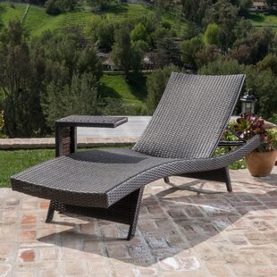 Wrought Studio Choi 2 Piece Chaise Lounge Set