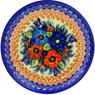 Butterfly Splendor Polish Pottery Decorative Plate  sc 1 st  Wayfair & Decorative Plates Youu0027ll Love | Wayfair
