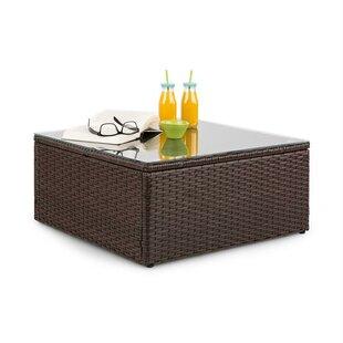 Theia Resin Wicker Coffee Table By Blumfeldt