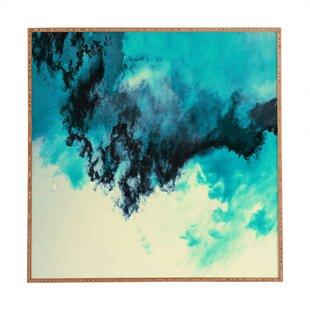 u0027Painted Clouds Vu0027 Framed Painting Print  sc 1 st  Wayfair & Wood Heart Wall Art | Wayfair
