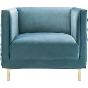 Eckhardt Woven Armchair by Brayden Studio