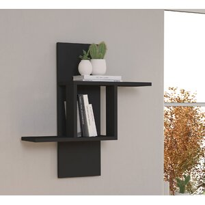 Gold Wire Wall Shelving
