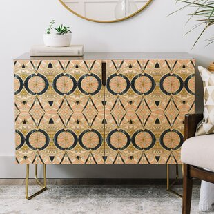 Marta Barragan Camarasa Marble Mosaic Credenza by East Urban Home