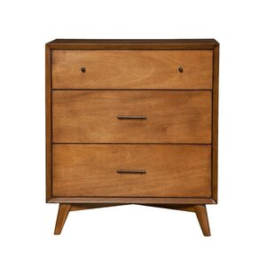 Brayden Studio Biquele 3 Drawer Chest