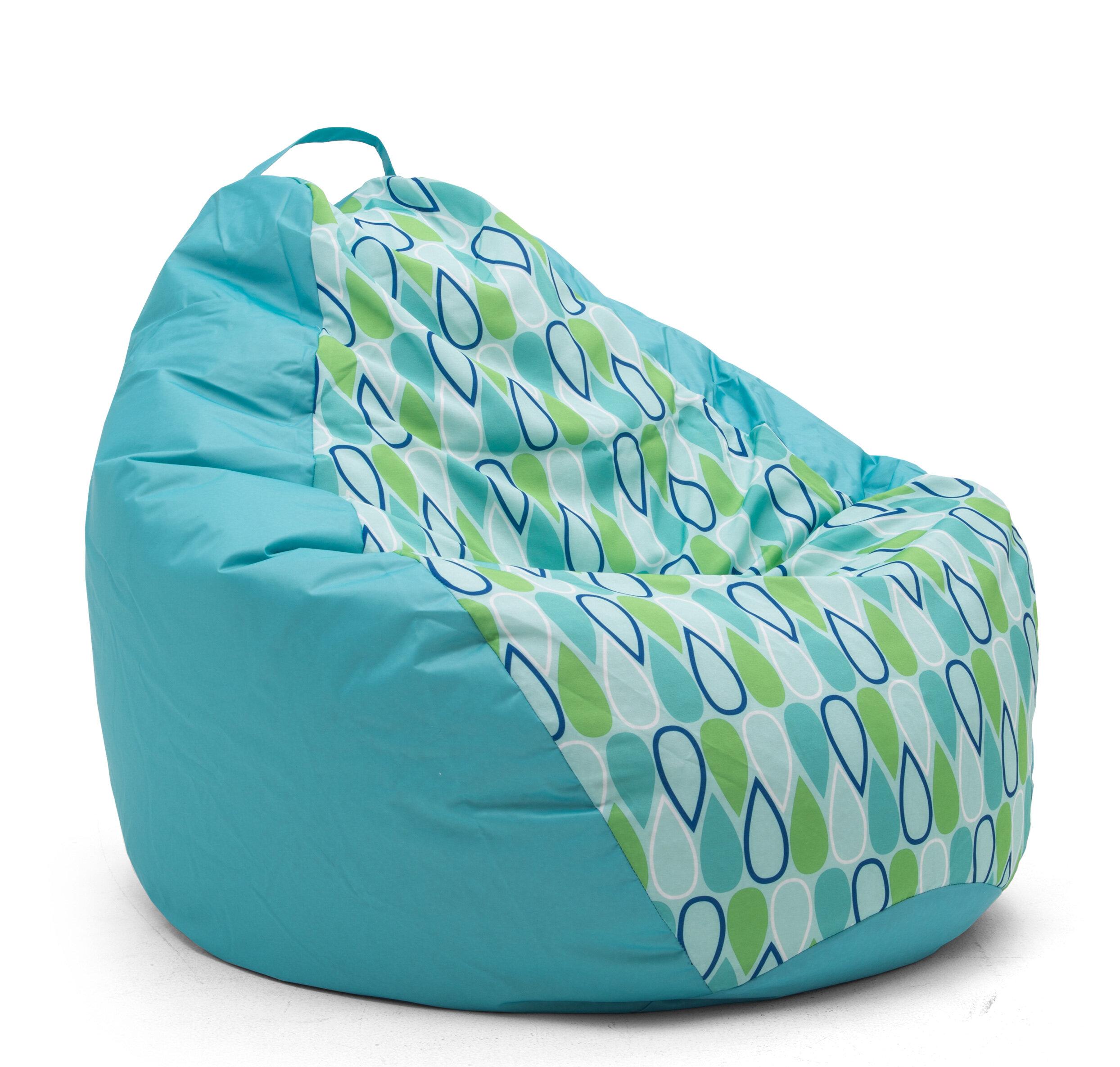 Comfort Research Big Joe Outdoor Teardrop Geo Drop Bean Bag Chair U0026 Reviews  | Wayfair