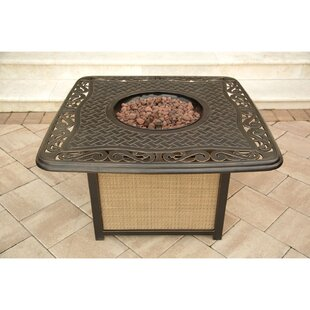 Lauritsen Aluminum Propane Fire Pit Table