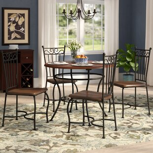 Nelida 5 Piece Dining Set by Astoria Grand Savings