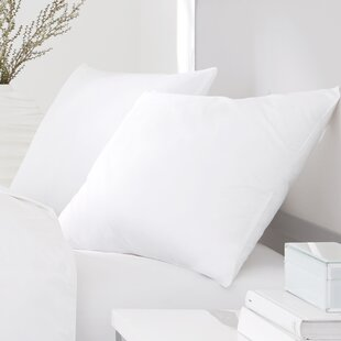 Flora Plush No-Quill Feather Pillow By Alwyn Home