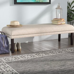 Bobby Upholstered Bench Charlton Home