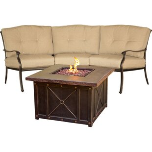 Carleton 2 Piece Sofa Seating Group with Cushions