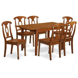 Katie 7 Piece Dinning Set by Alcott Hill Today Sale Onlyt
