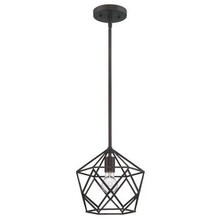 Gracie Oaks Matsumoto 1-Light Geometric Pendant