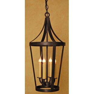 Laura Lee Designs Boston 4-Light Outdoor Hanging Lantern