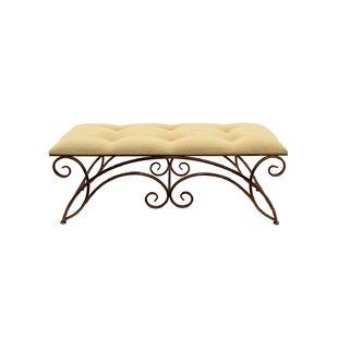 Fleur De Lis Living Cogar Upholstered Bench