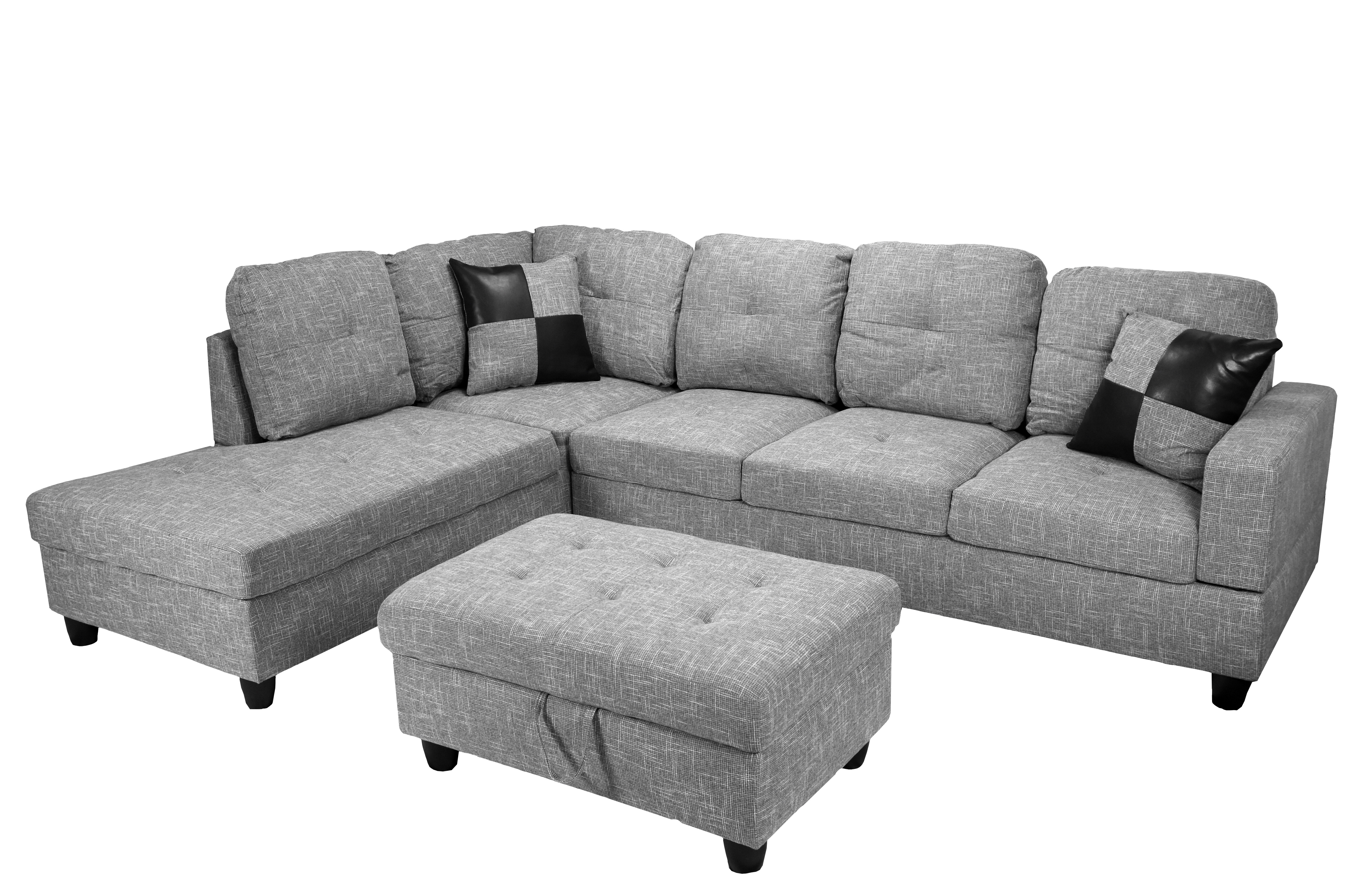 Winston Porter Massillon Sectional with Ottoman & Reviews