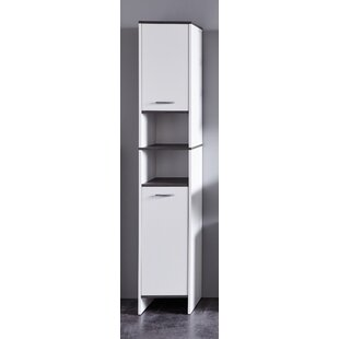 Allura 32 X 180cm Free Standing Tall Bathroom Cabinet By 17 Stories