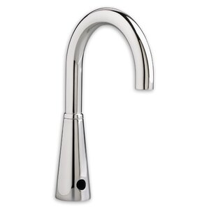 Bathroom Faucet Gooseneck metering bathroom sink faucets you'll love | wayfair