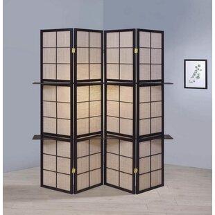 Moultry 3 Panel Room Divider by Red Barrel Studio